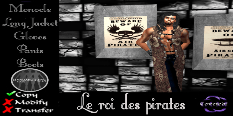Le roi des pirates from COVETED!